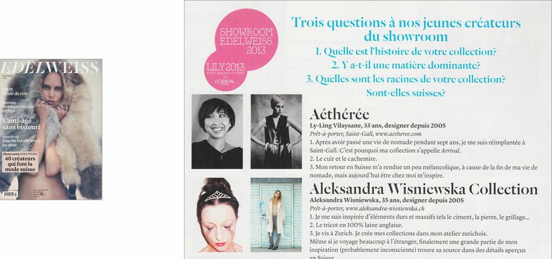 Edelweiss Magazin - Oktober 2013