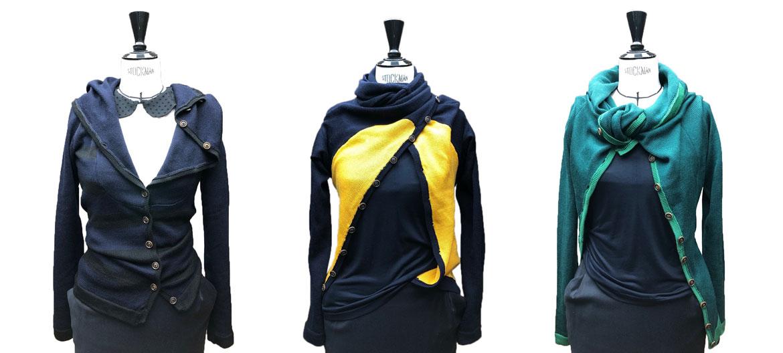 DSS Cardigan in neuen Muster und Farben