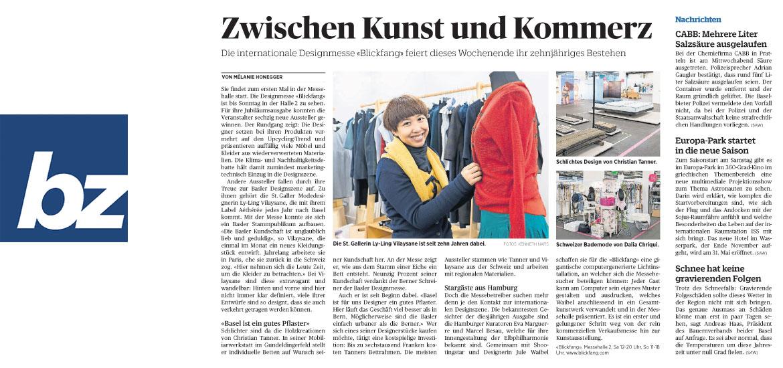 BZ Basel - Zwischen Kunst und Kommerz